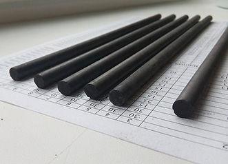 Электрод угольный ВДК ф6 и ф8 мм